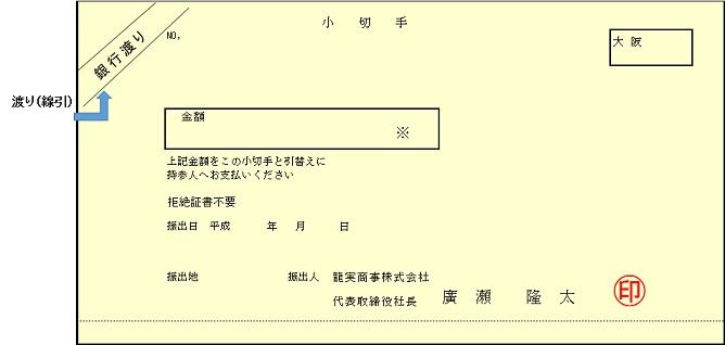 小切手の現金化 | 手形.com